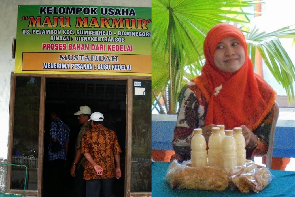 """Salah satu Rumah Produksi SULE """"Susu Kedelai"""" Kelompok Usaha Maju Bersama di Desa Pejambon"""