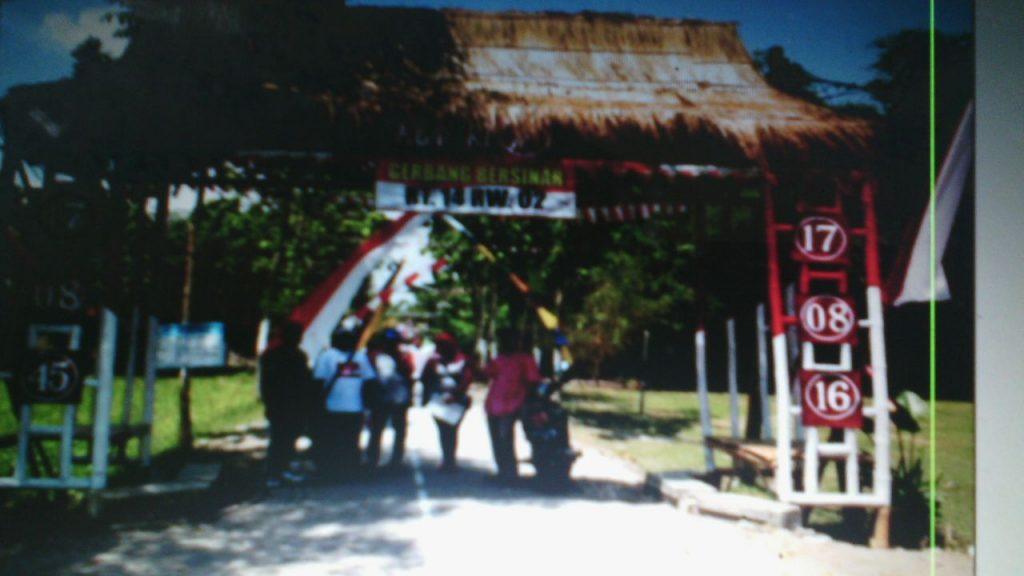 Warga Desa Pejambon Bojonegoro Lomba Kebersihan Lingkungan