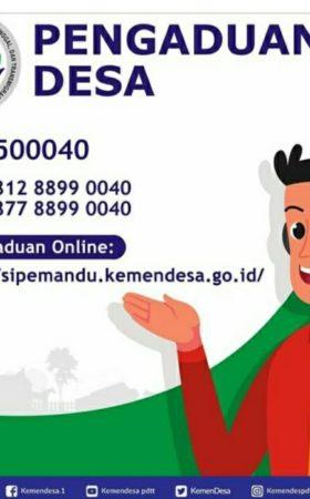 Kementerian Desa Buka Aduan Layanan Online